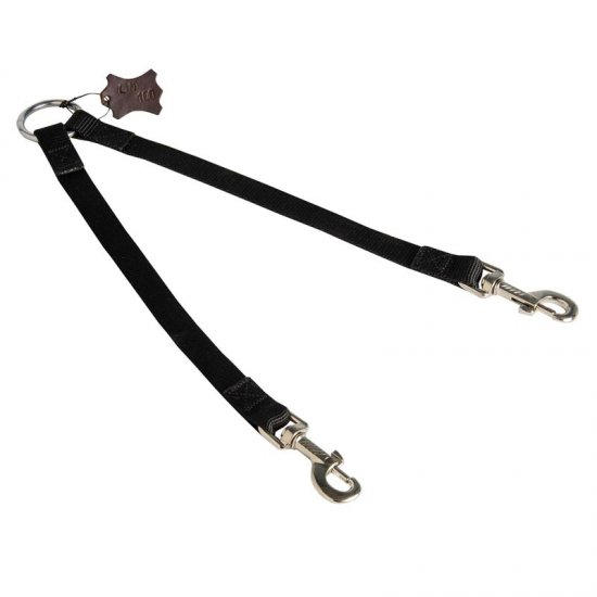 Nylon American Bulldog Leash Coupler Stitched