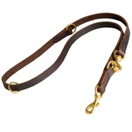 Multifunctional Leather American Bulldog Leash