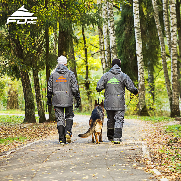FDT Pro Dog Trainer Jacket of High Quality for All Weather