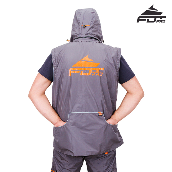 FDT Pro Dog Training Jacket with Side Pockets for your Comfort