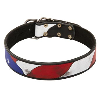 Training American Bulldog Leather Colored Handcrafted