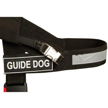 American Bulldog Nylon Assistance Harness with Patches