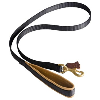 Special Nylon Dog Leash Comfortable to Use for American Bulldog