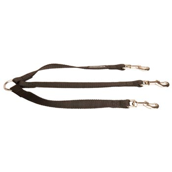Triple Nylon Leash for Walking 3 American Bulldog Dogs