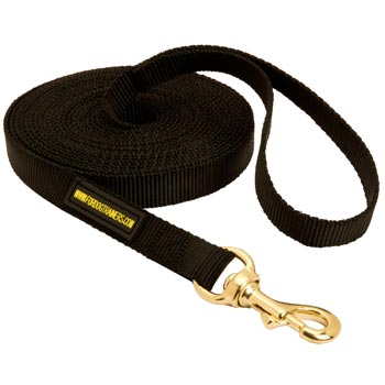 Tracking Extra Long Nylon American Bulldog Leash