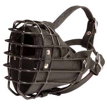 Winter Fully Wire BREED-NANE Padded Muzzle Cage
