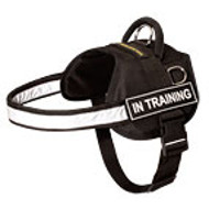 Nylon American Bulldog Harness with Reflective Strap for Training, Walking, Police Service, SAR and More